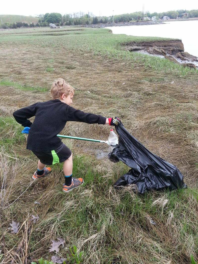 Weir River and Straits Pond Clean Up April  27